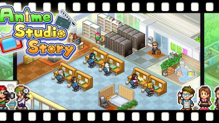 Kairosoft Games' Anime Studio Story Coming Soon To The Nintendo Switch