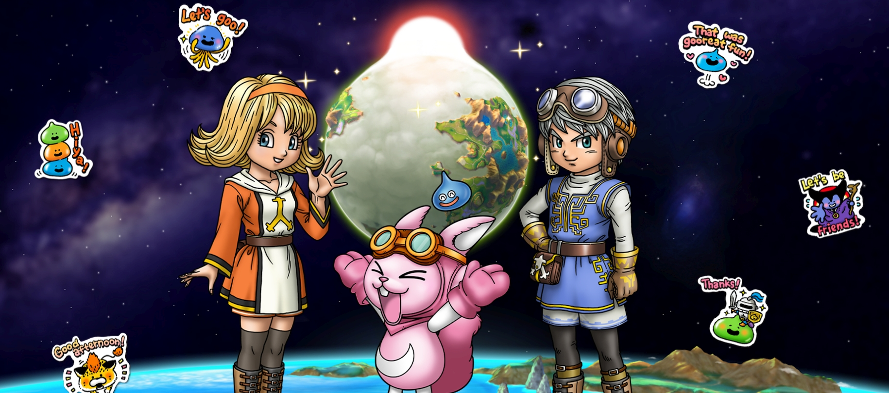 Square Enix's Dragon Quest of The Stars Global Mobile Pre-Registration Begins