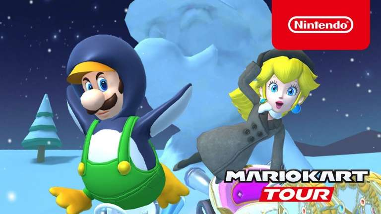 The Ice Tour Has Begun In Mario Kart Tour, Get Ready For Some Frosty Competition On These Icey Maps