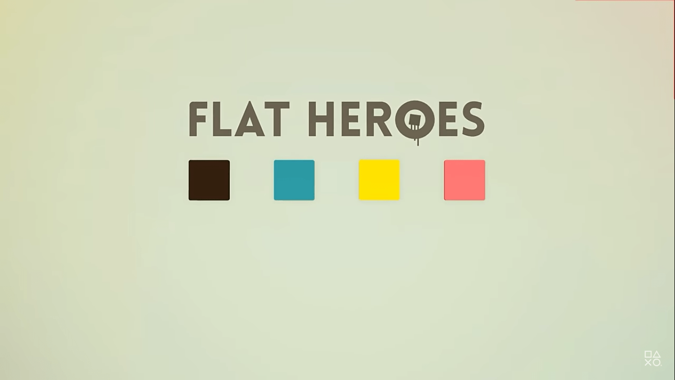 Flat Heroes Is Coming to PlayStation 4 Adding Another Platform To Enjoy These Terrifying Geometric Levels On