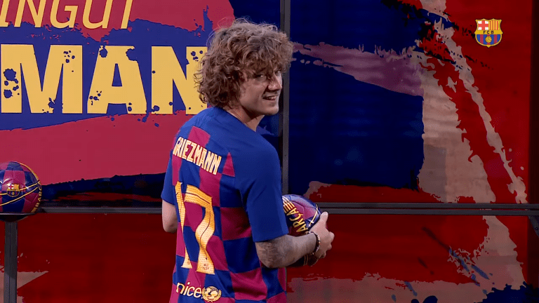 Barcelona Forward, Antoine Griezmann, Starts His Own Esports Team, Expected To Announce First Roster Next Week