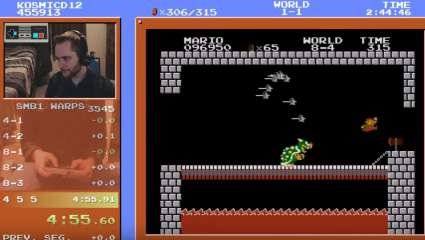 YouTube Gamer Sets An All New Super Mario Bros Speedrun World Record