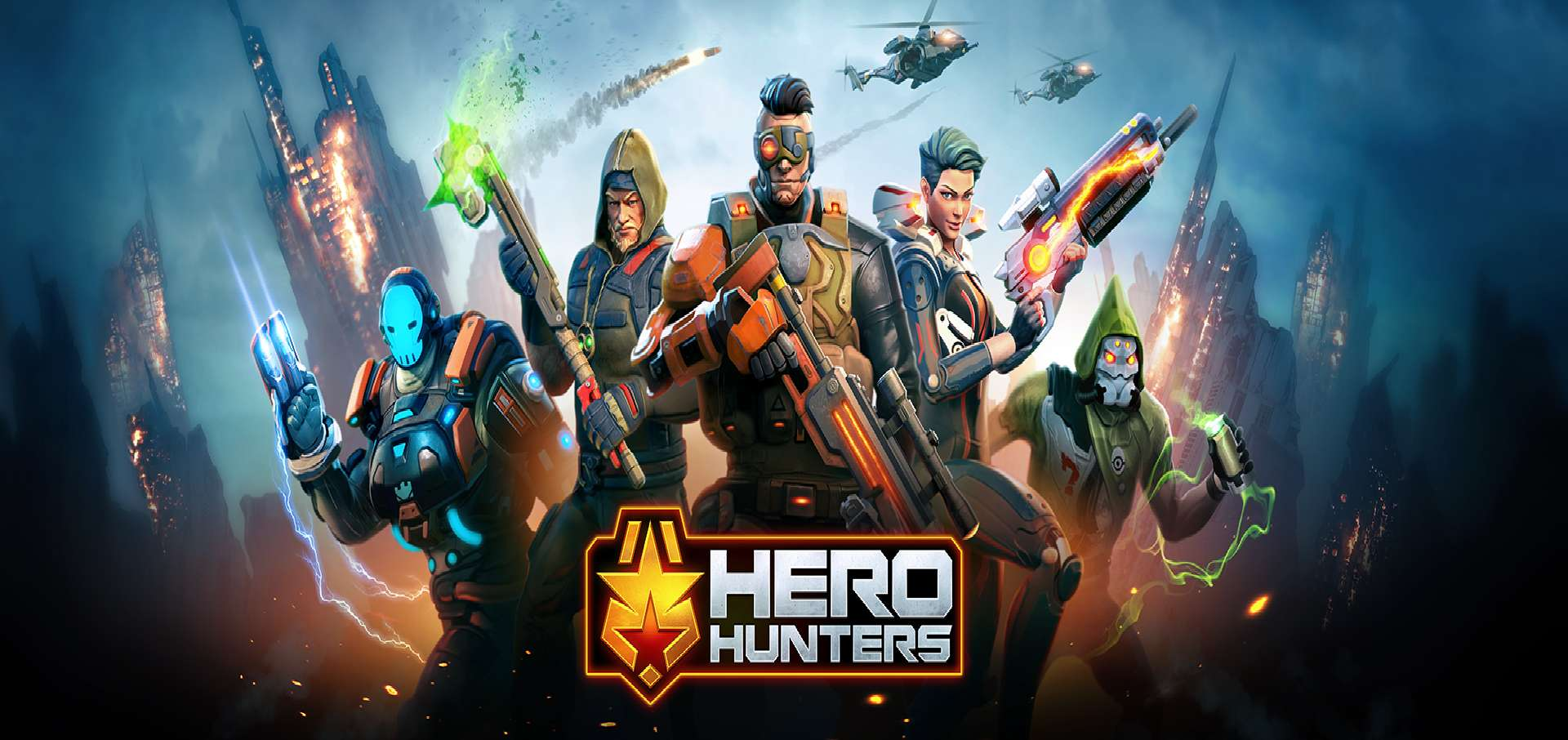 Hero Hunters Updates To Version 2.10 For The New Year And New Heros Comes With It