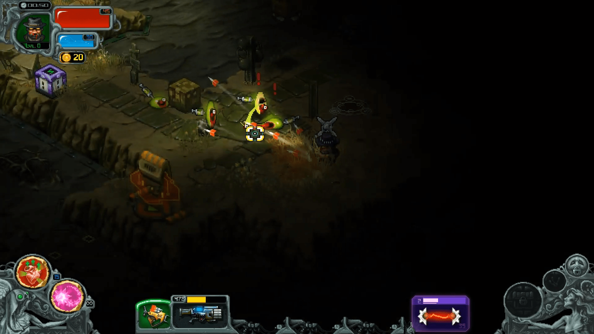 I, Dracula: Genesis Is Bringing Roguelike Twin-Stick Shooting To Steam's Early Access