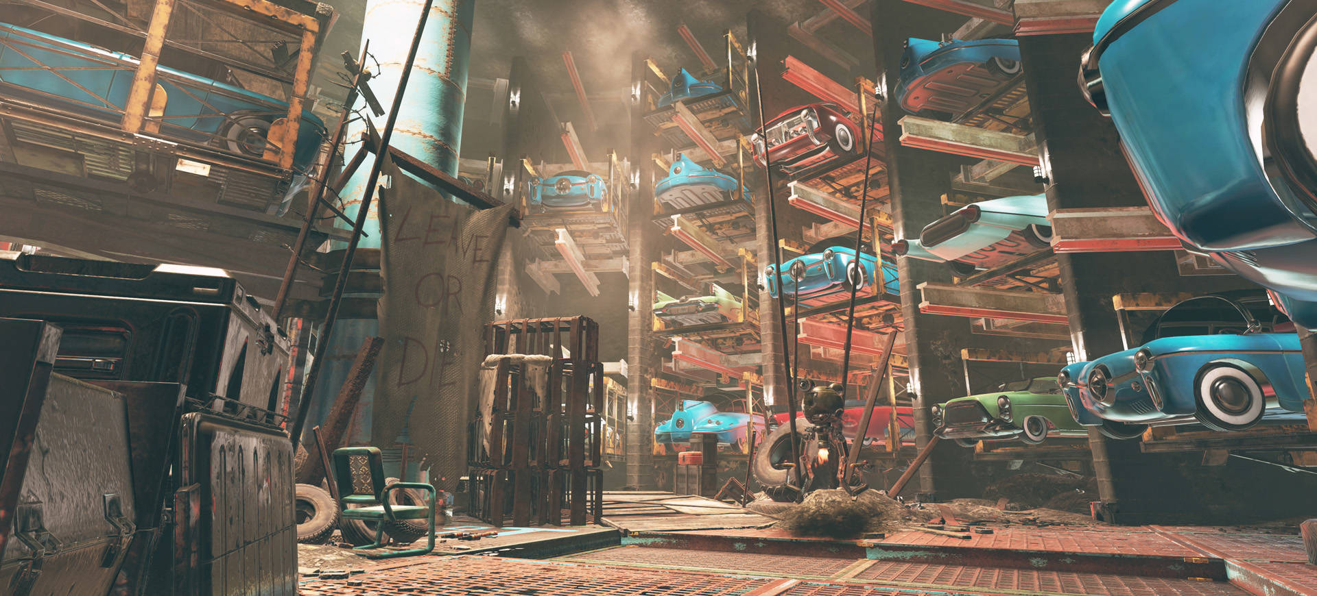 """Fallout 76's Newest Inside The Vault Blog Details The Newest Location """"Watoga Underground"""""""