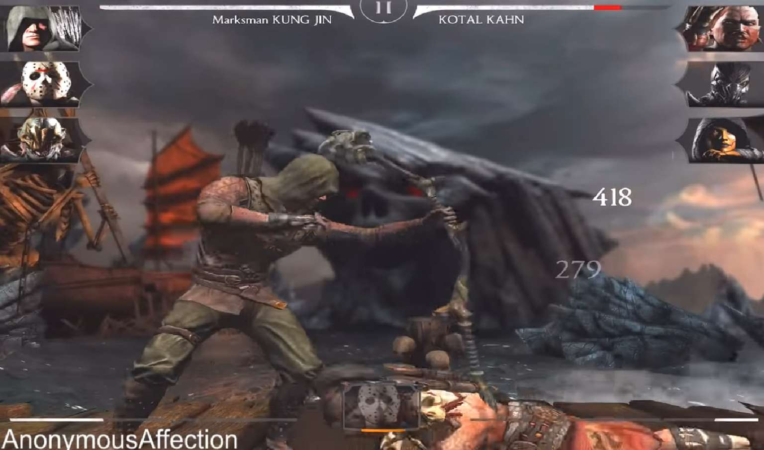 Marksman Kung Jin Rains Down Arrows Onto His Mortal Kombat Mobile Weekly Tower