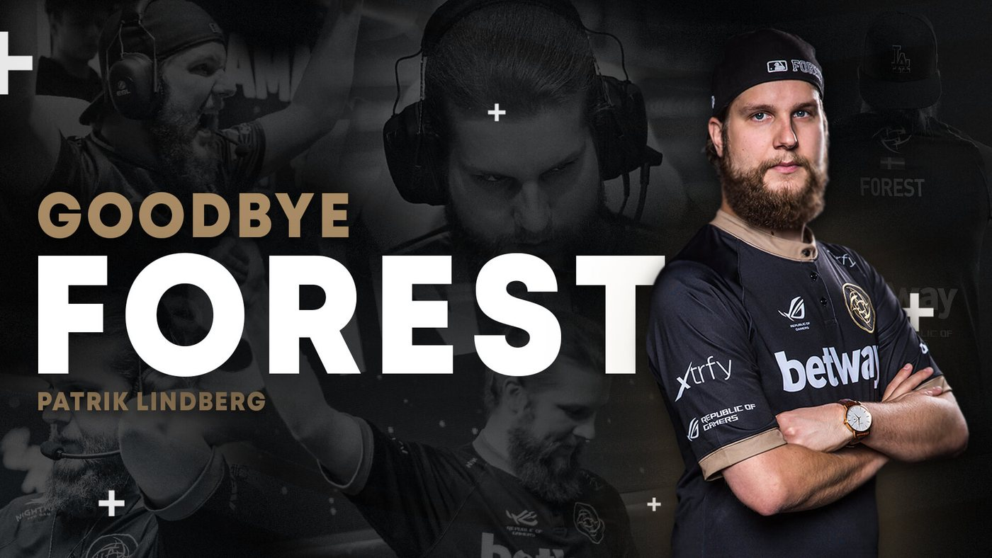 Patrik 'f0rest' Lindberg Announced His Leave From The Ninjas In Pyjamas Squad