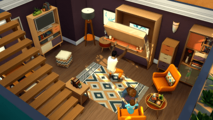 The Sims 4: Tiny Living Expansion Introduces Smaller Homers, Bigger Gardens, And Killer Beds