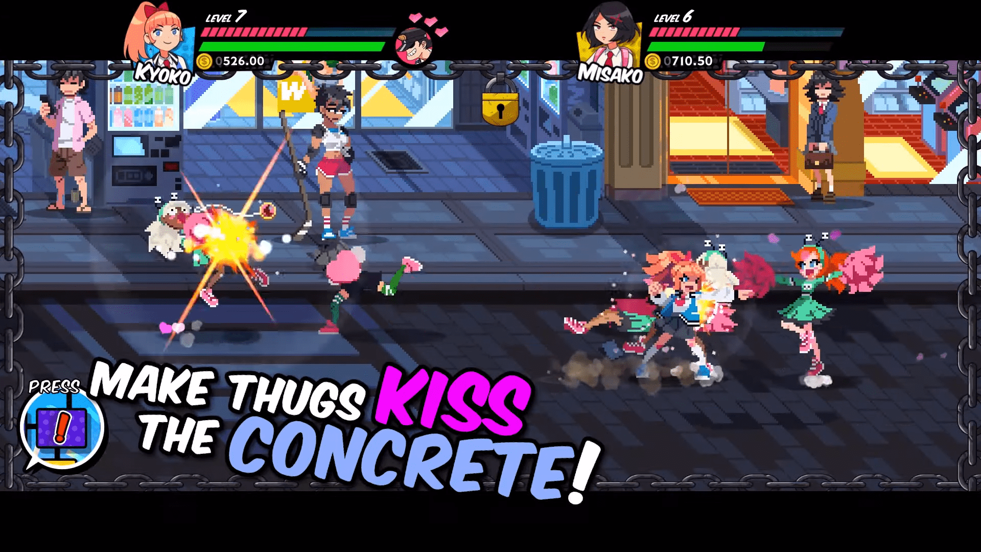 River City Girls Brings Patch 1.1 That Implements A New Ending, And Other Fixes