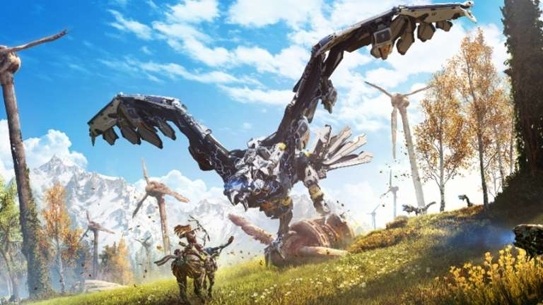 Horizon Zero Dawn Is Enjoying A High Double-Dip Percentage Rivaled Only By Grand Theft Auto 5