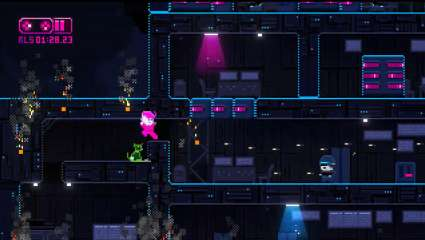The Cyberpunk-Looking Platformer Lazr Now Has A Free Demo On Itch.io
