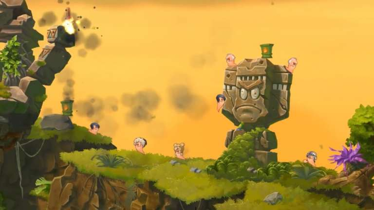 The Artillery Turn-Based Tactics Game Worms WMD Is Heading To Origin Access
