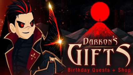 Darkon's Birthday Shop Finally Comes To AdventureQuest Worlds With Unique Items