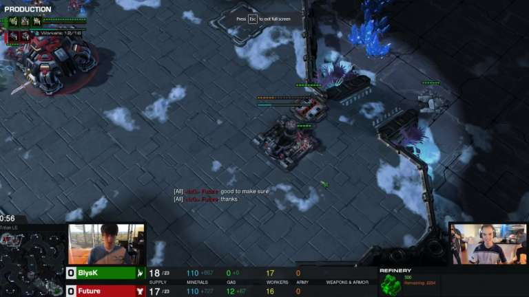 The AusCraft Tournament Final Match Between Future and Blysk has Named a Finals Winner - Spoilers Within!