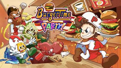 XSEED Games Releases Burgertime Party! Demo On Nintendo Switch EShop