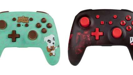 Animal Crossing: New Horizons And Doom Eternal PowerA Enhanced Switch Controllers Announced