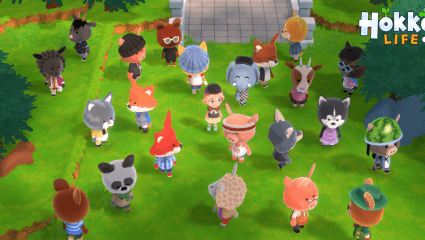 Hokko Life Is An Adorable Village Simulator Inspired By Animal Crossing, Get Off The Train And Enter A Whole New World Of Villaging Adventure
