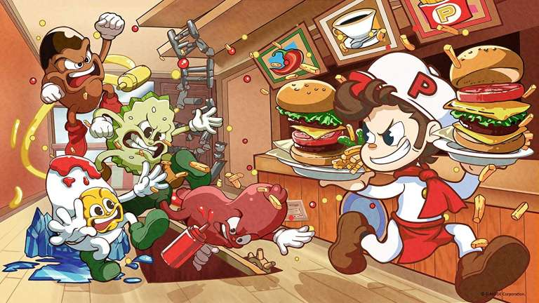 BurgerTime Party! Has A Demo Availiable On The Nintendo eShop Today, The 1982 Classic Has Been Reborn Thanks To XSEED Games