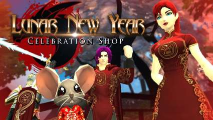 AdventureQuest 3D Celebrates The Lunar New Year With In-Game Items Based On The Year Of The Rat