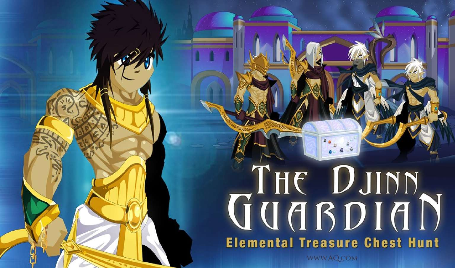 AdventureQuest Worlds Celebrates Another Staff Member Birthday With Treasures Of Djinn Guardian