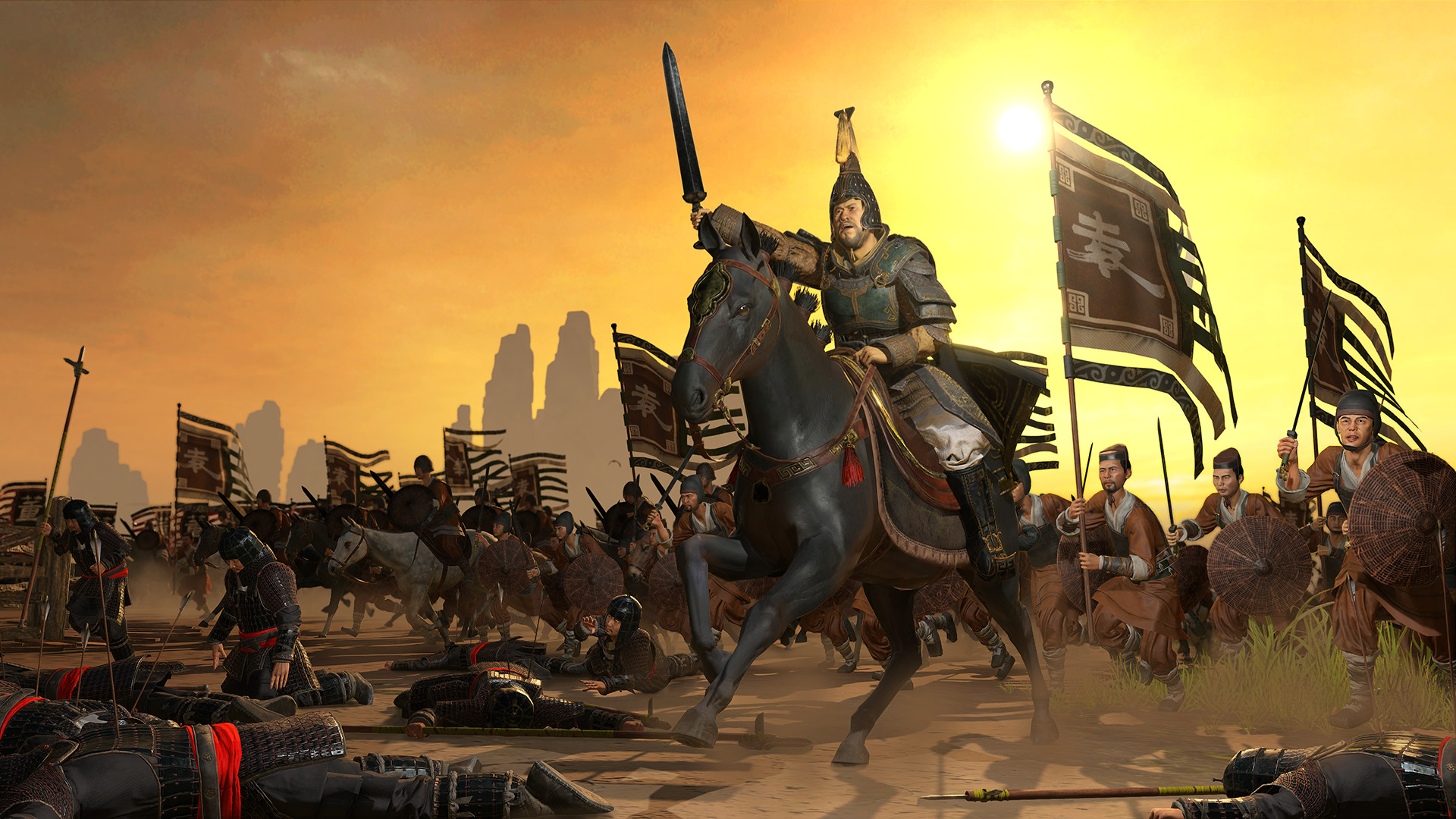 Total War Three Kingdoms Mandate Of Heaven Dlc Spotlight Video