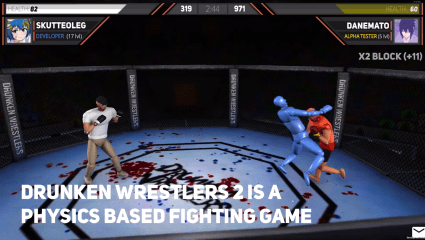 Drunken Wrestlers 2 Gets A Massive Update To The Hilarious Free To Play Title