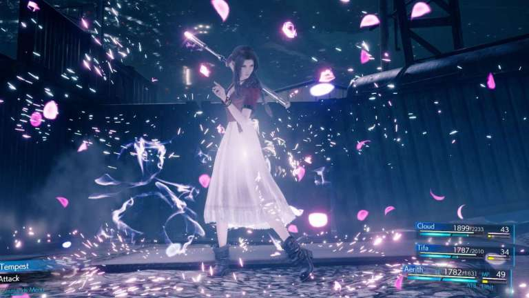 Final Fantasy 7 Remake's Twitter Account Takes A Close Look At Aerith In New Character Video