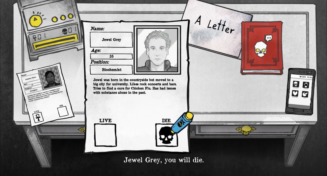 Death And Taxes Now Has A Free Demo Out That Involves A Lot Of Paperwork And The Grim Reaper