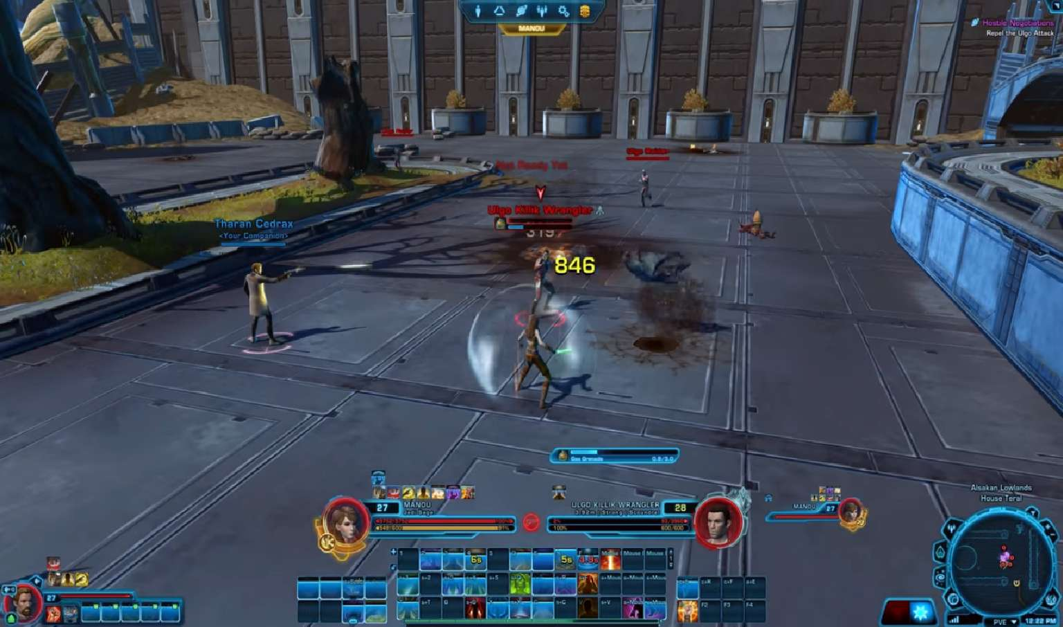 Star Wars The Old Republic Finishes Testing On Alderaan Stronghold Thanks To Player Feedback