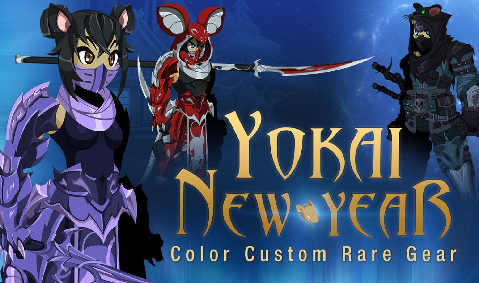 AdventureQuest Worlds Celebrates The Lunar New Year With Yokai New Year