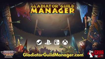 Gladiator Guild Manager Is A Football Managment Game But With Weapons, New Indie Game Looking For Funding On Kickstarter