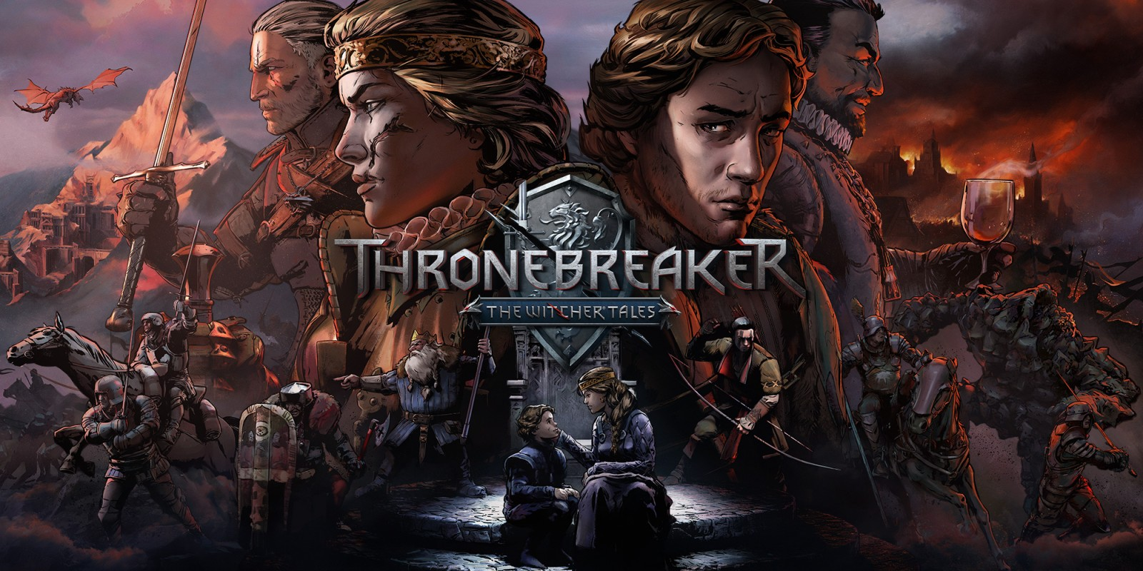 Thronebreaker: The Witcher Tales Has Made Its Way Onto The Nintendo Switch, A Surpise Port Bringing Another Witcher Title Onto The Portable Console