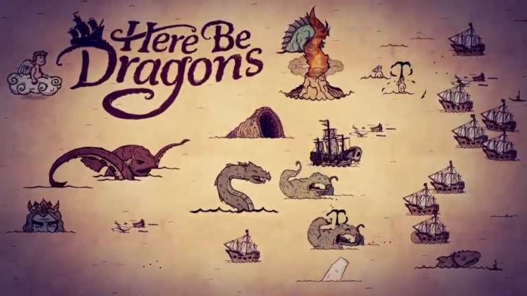 Here Be Dragons Is Sailing Its Way To Steam On January 30, Take On Hostile Sea Monsters With Insane Sailors