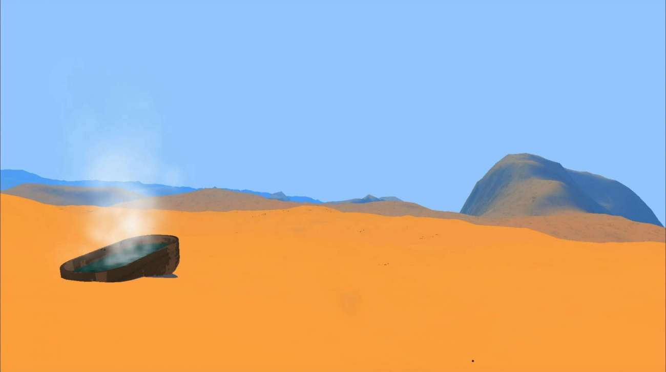 Red Desert Render Is A Unique Hiking Game That's Now Free Via Itch.Io