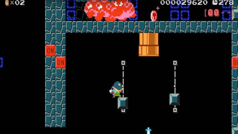 Super Mario Maker 2 Has New Levels That Were Built With Link In Mind; They're Extremely Difficult