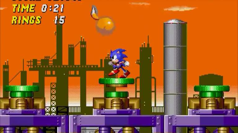 The Classic Sonic The Hedgehog 2 Is Receiving Some Modern Features On The Switch