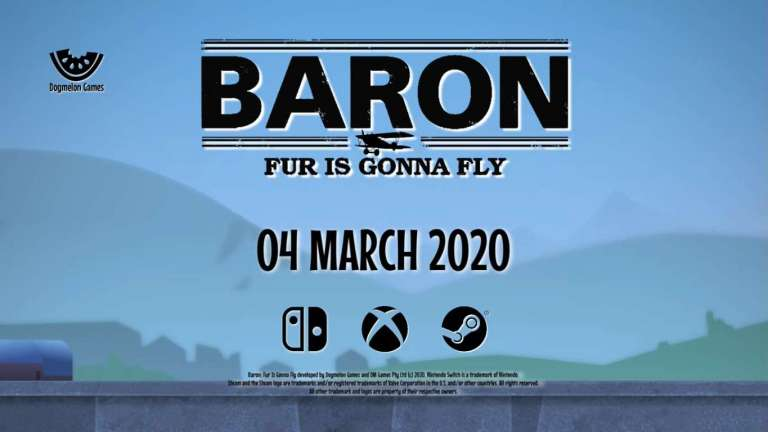 A Dog Fighting Game That Is Sure To Be A Howl, Baron Fur Is Gonna Fly Onto Xbox One, PC, and Nintendo Switch This March