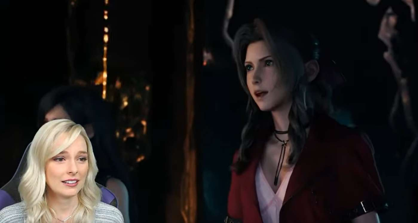 Aerith Voice Actress Reacts To The All-New Final Fantasy VII Remake Theme Song Trailer On YouTube