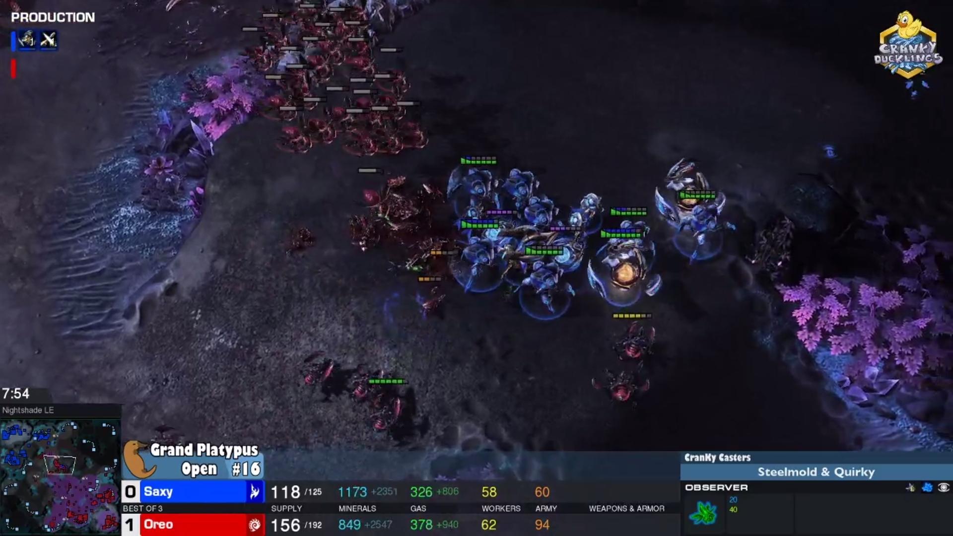 Cranky Duckling's StarCraft II Tournament, Grand Platypus Open 16, Is Now Live!