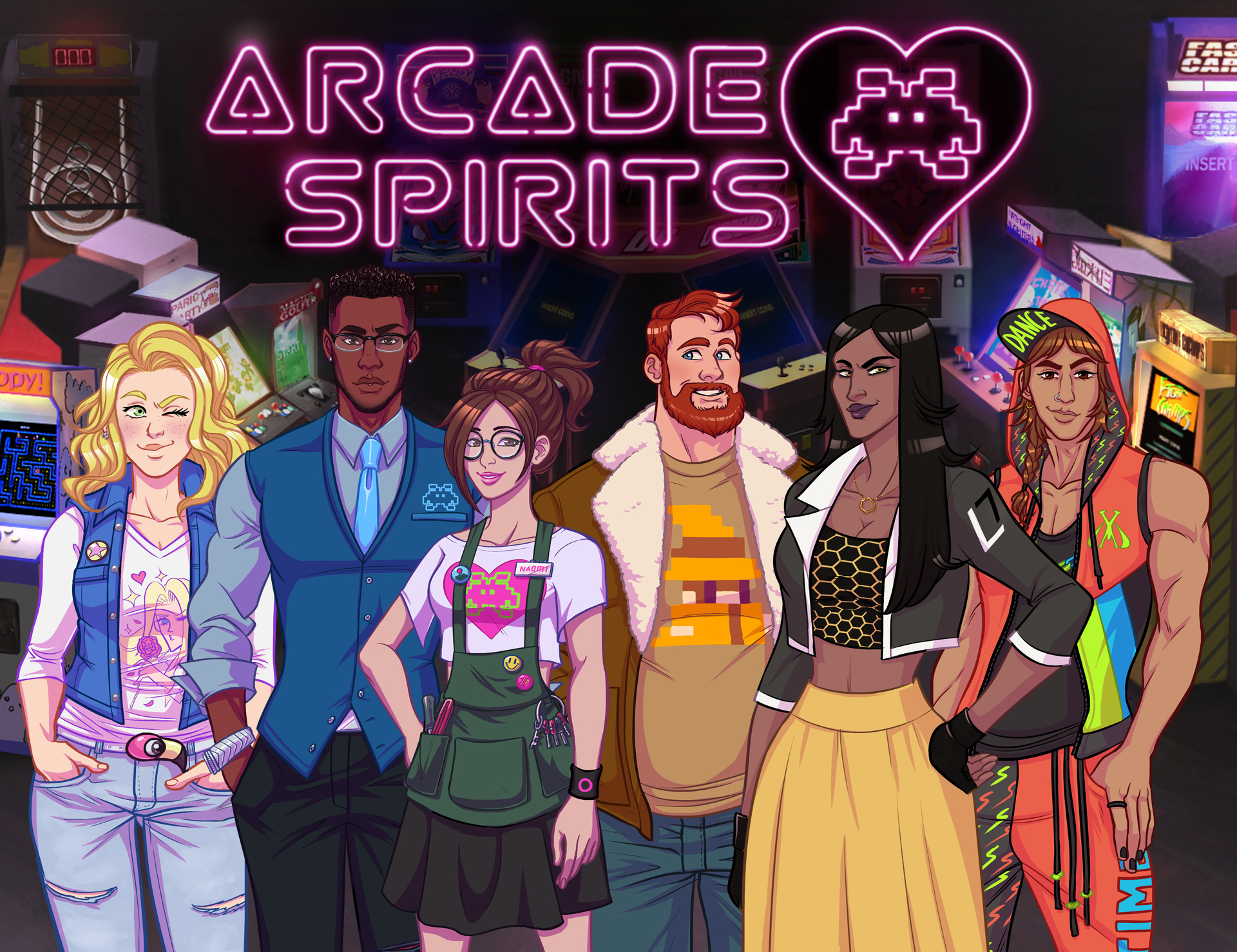 Arcade Spirits Is Making Its Way Onto Xbox One, PlayStation 4, And The Nintendo Switch This May,