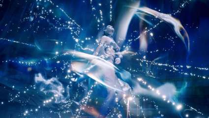 Final Fantasy VII Remake Screenshots Show The Classic Ice Summon Spell Shiva In Action