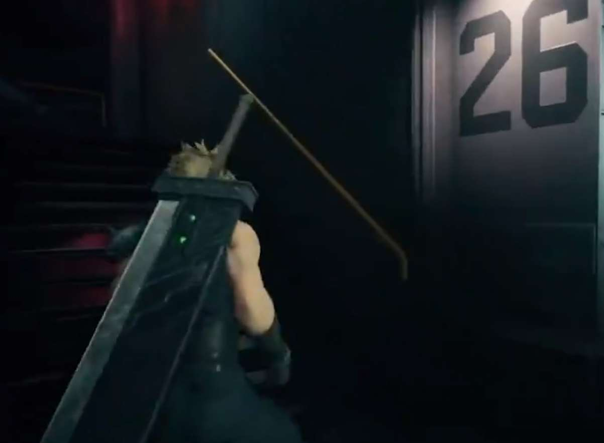 Square Enix Features The Infamous Stairs Mini Game In A Final Fantasy VII Remake Tweet