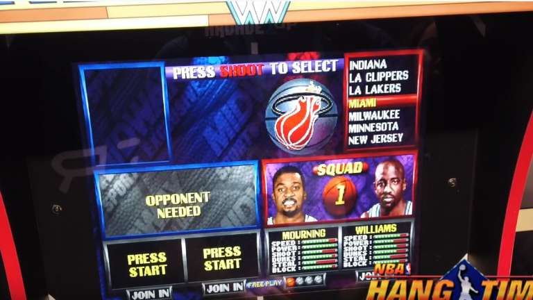 The NBA Jam Arcade Cabinet From Arcade1Up Can Now Be Pre-Ordered