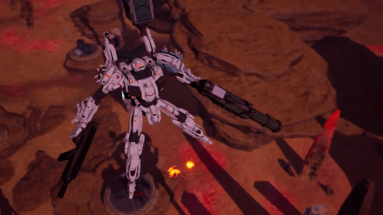 DAEMON X MACHINA Lands On Steam To Great Fanfare For Fans Of The Mech Genre