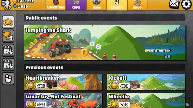 Hill Climb Racing 2 Brings Jumping The Shark Event For Their Weekly Event