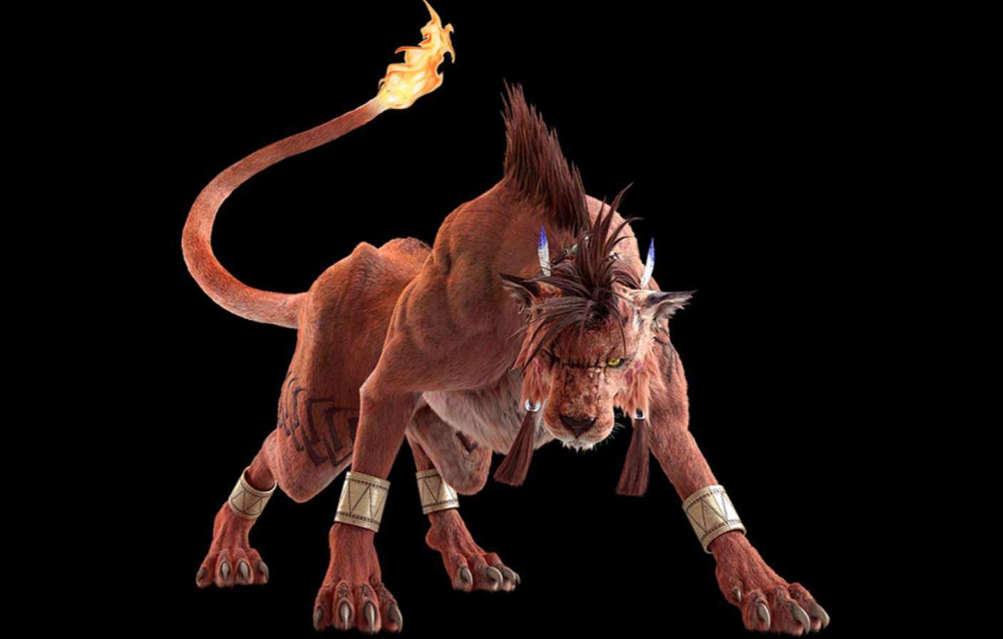 Final Fantasy VII Remake Tweets Images Of Red XIII With Some Backstory On The Character