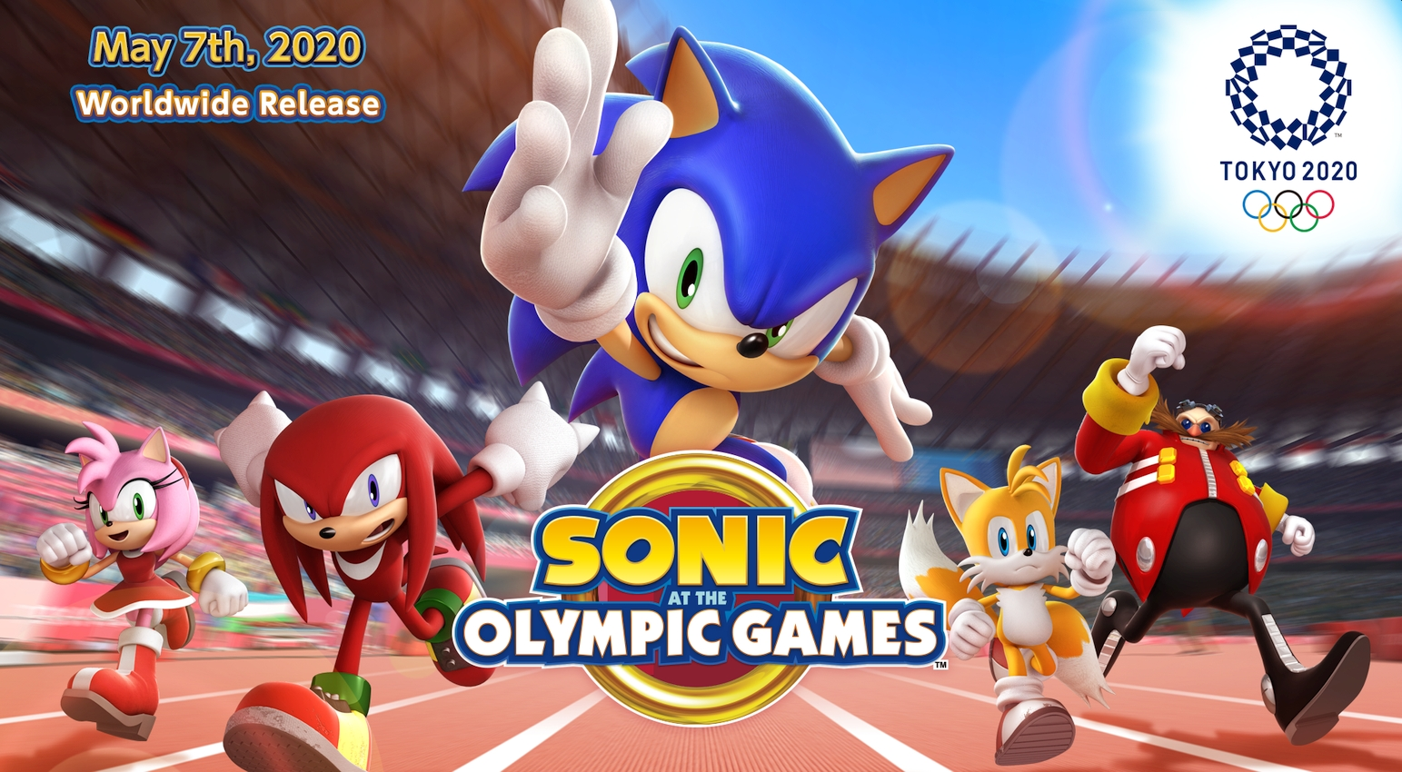 Sonic at the Olympic Games: Tokyo Mobile Game Announced With Pre-Registration Open Now