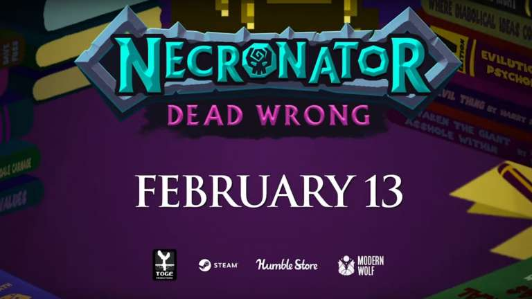 Toge Productions' Necronator: Dead Wrong Set For February 13th Early Access Release