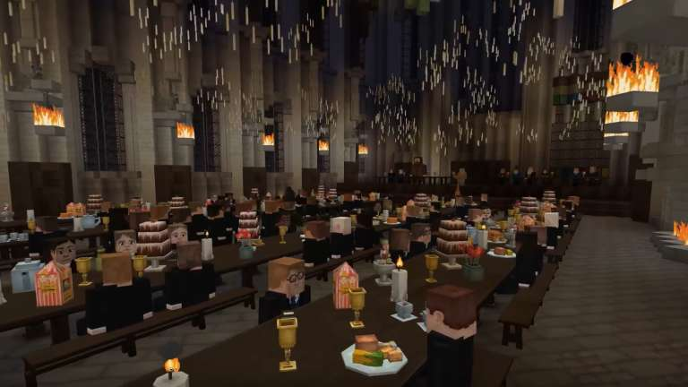 The Harry Potter RPG Inside Minecraft Is Now Officially Complete; A New Trailer Was Just Put Out