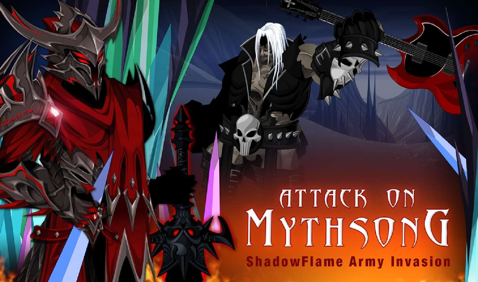 Mythsong Shadow War Creeps Into AdventureQuest Worlds For The First War Of February